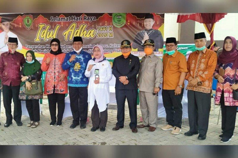 DPRD Kalteng pantau penyaluran hewan kurban pemprov ke Kapuas-Pulpis