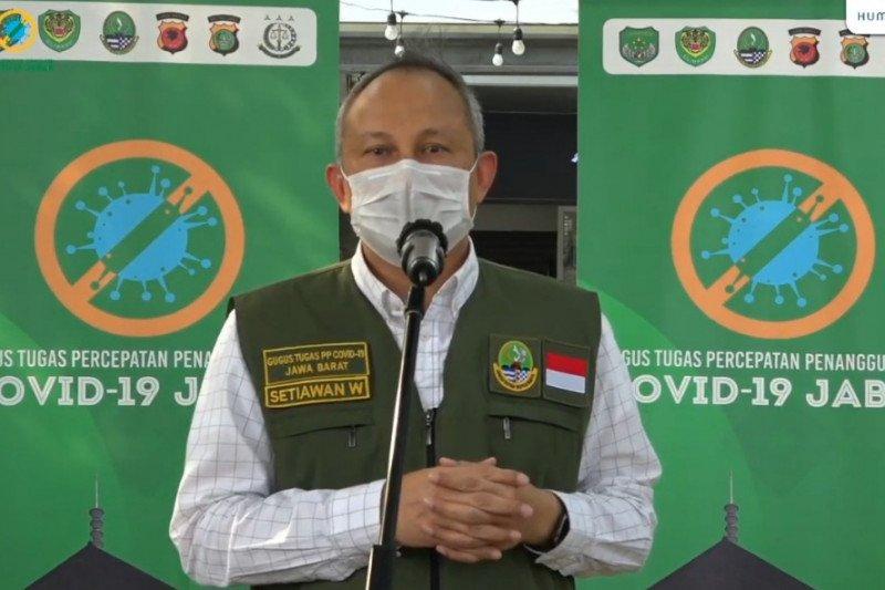 40 pegawai di lingkup Gedung Sate Bandung terpapar COVID-19