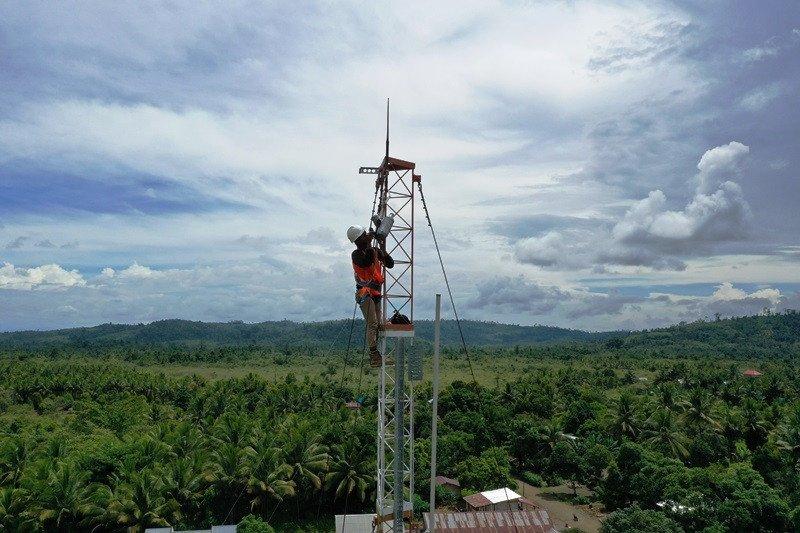 Kabupaten  Belu  dilengkapi 57 stasiun pemancar