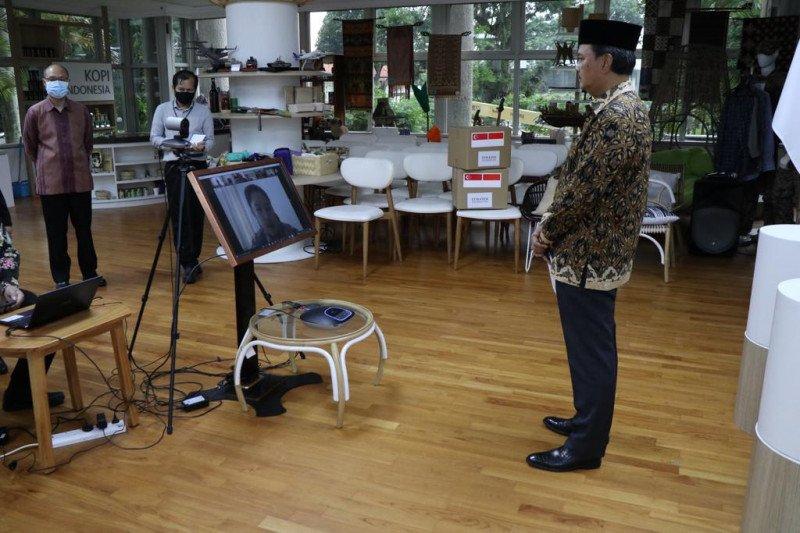 Yayasan Temasek bantu Indonesia 1 juta masker