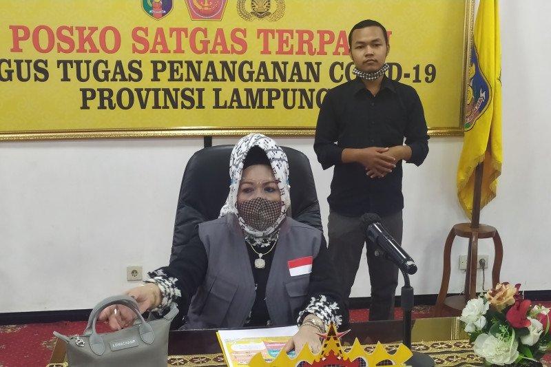 Kasus konfirmasi positif COVID-19 Lampung bertambah 3 orang