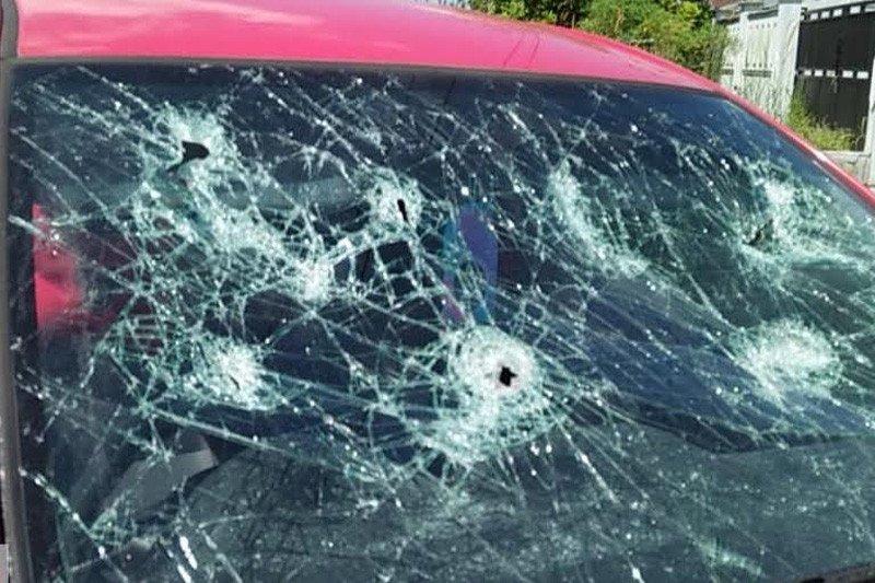 Mobil seorang wanita di Palangka Raya diadang dan dipecah orang tak dikenal