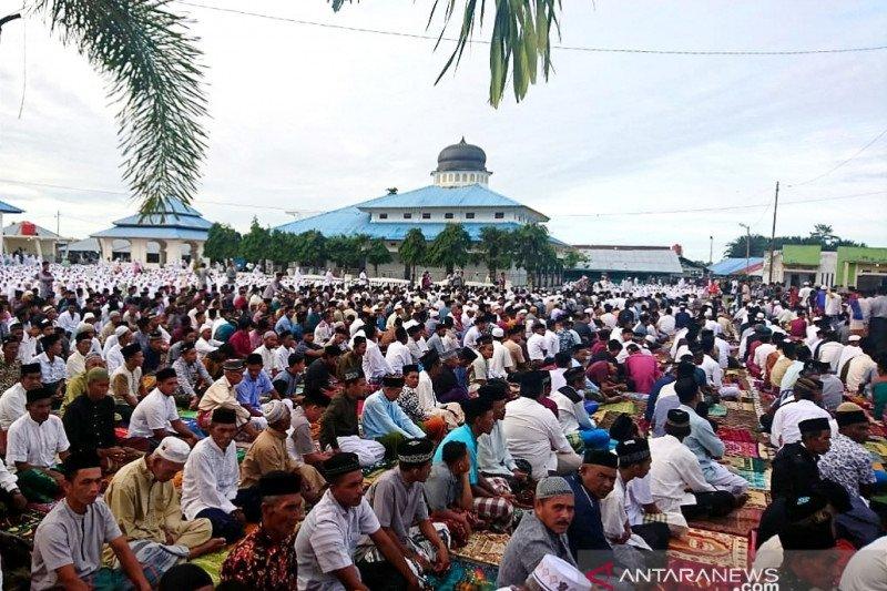 Pengikut Tarekat Syattariyah di Aceh merayakan Idul Adha