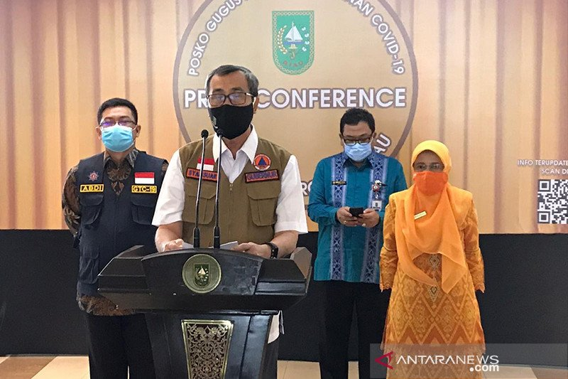 Upacara HUT ke-75 RI di Riau  terapkan protokol kesehatan