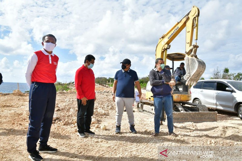 Gubernur Sulsel tinjau progres pembangunan kawasan wisata Bira Bulukumba