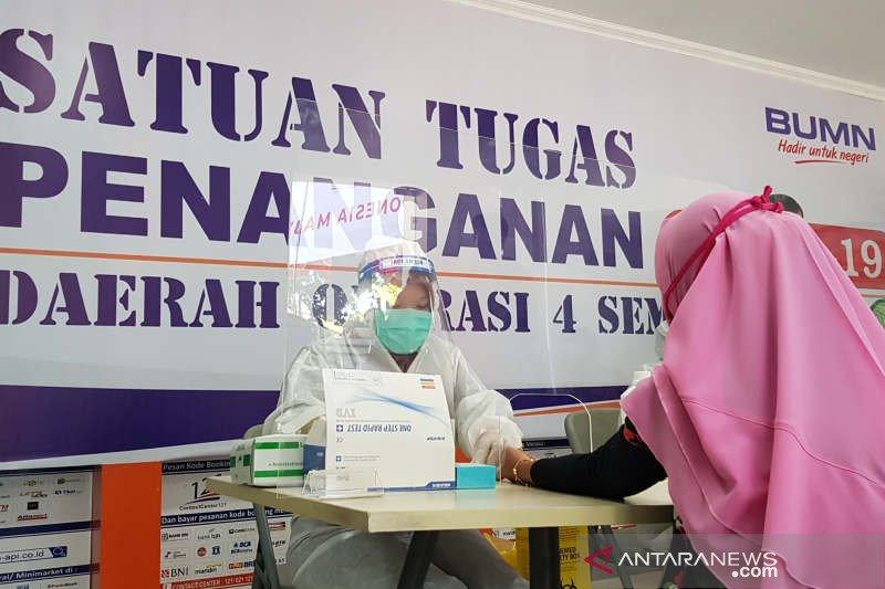Stasiun Tawang Semarang sediakan layanan tes cepat COVID-19
