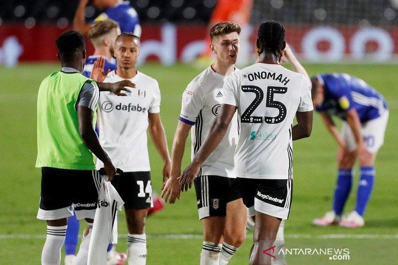 Fulham ke final playoff promosi kendati kalah 1-2 dari tamunya Cardiff