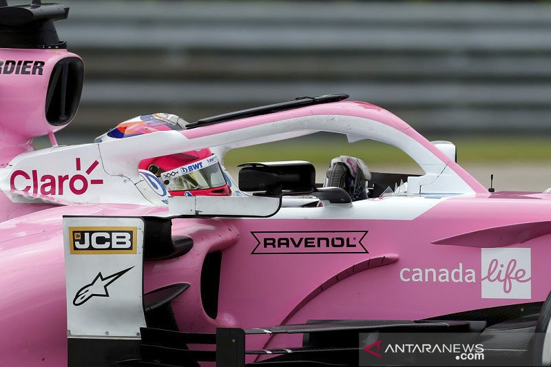 Pebalap Sergio Perez masih positif COVID-19, Hulkenberg dipanggil lagi ke Silverstone
