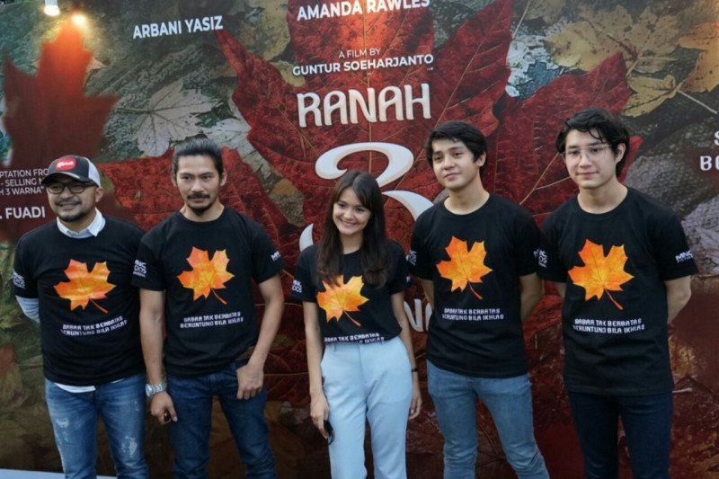 """Film """"Ranah 3 Warna"""" selesai diproduksi, siap tayang di bioskop"""