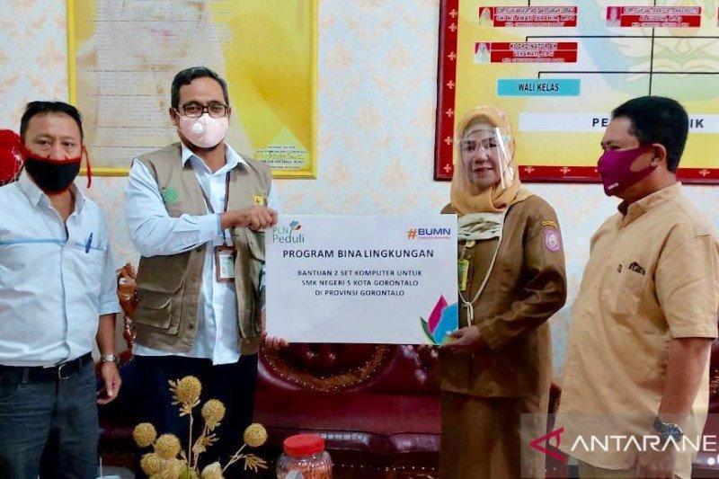PLN Suluttenggo bantu tingkatkan kualitas dunia pendidikan Gorontalo