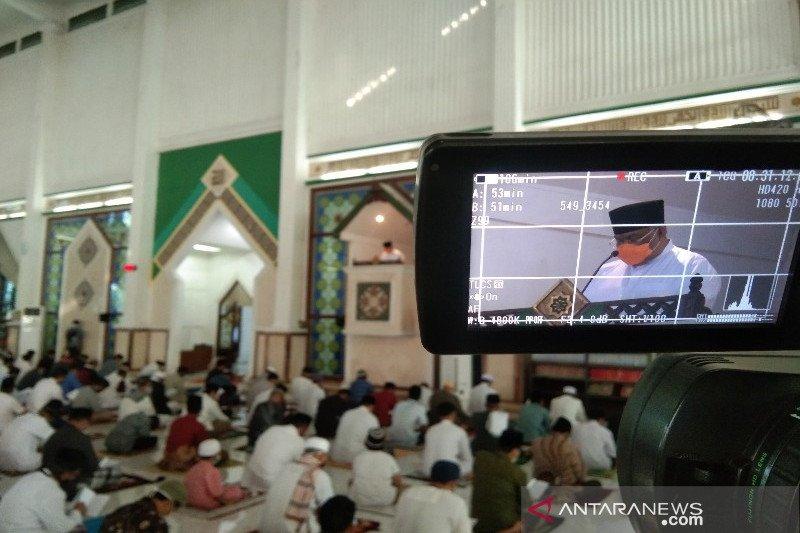 Gubernur Sultra meminta jamaah Shalat Idul Adha selalu waspada COVID-19