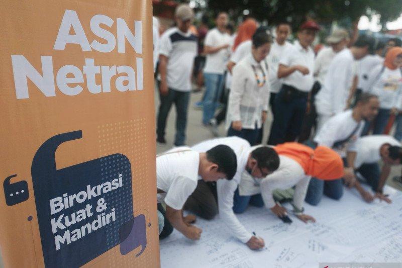Bawaslu Sulsel laporkan 41 kasus dugaan pelanggaran netralitas ASN ke KASN