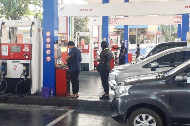 Intensitas kendaraan naik, Pertamina amankan pasokan BBM di ruas tol