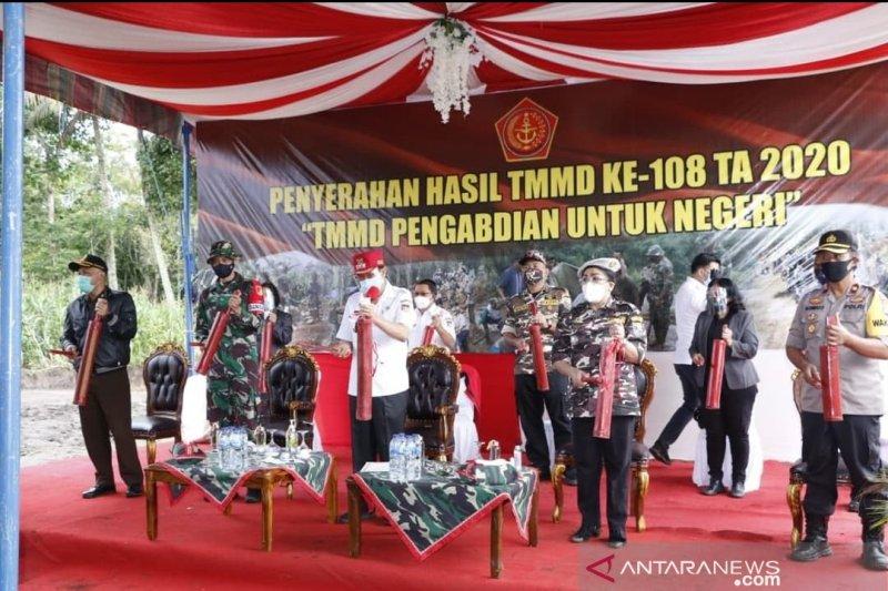 TMMD dorong kesejahteraan masyarakat Minahasa