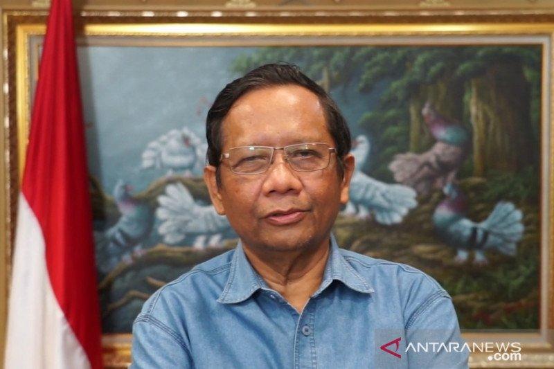 Menko Polhukam Mahfud: Pejabat melindungi Djoko Tjandra harus siap dipidana