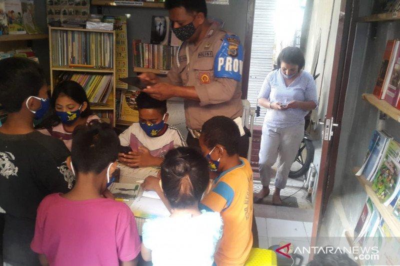Polisi di Kupang sediakan WiFi untuk belajar daring anak tak mampu