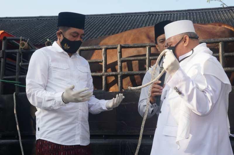 Hindari kerumunan, pemotongan hewan kurban Masjid An-Nur dialihkan ke RPH