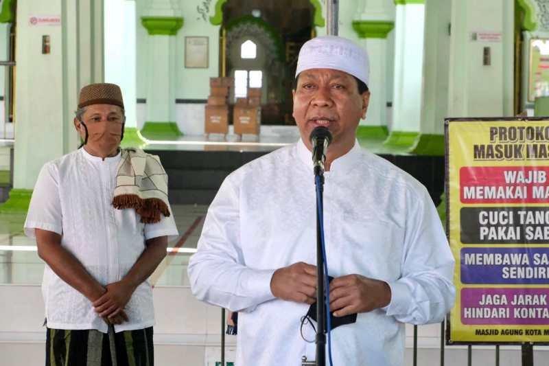 Wali Kota Magelang safari Idul Adha  edukasikan protokol kesehatan