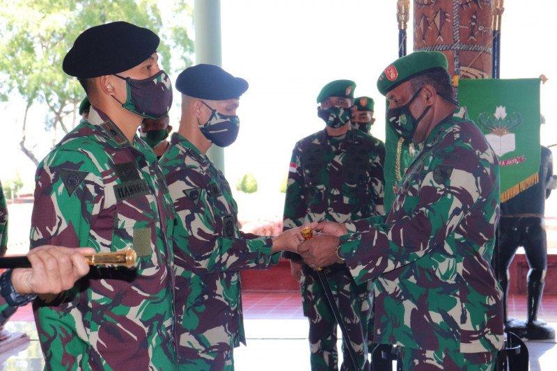 Pangdam: Sertijab tiga pejabat Kodam XVII/Cenderawasih proses regenerasi kepemimpinan