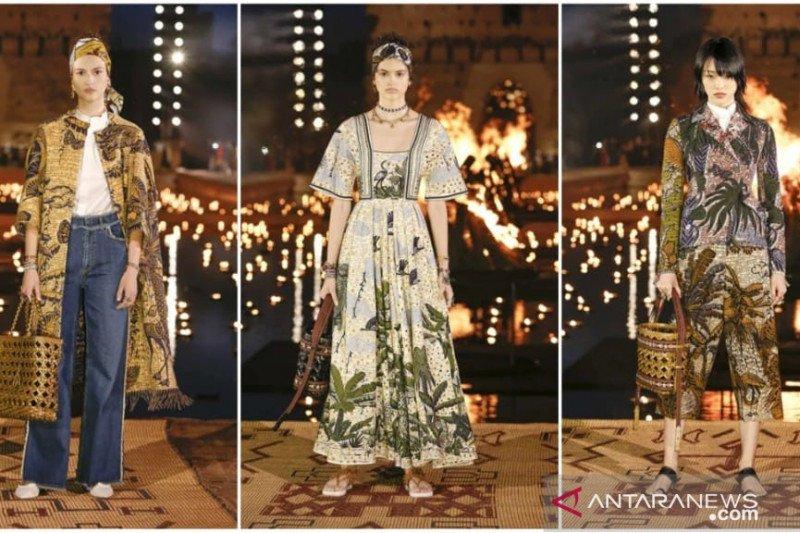 """Mengulik """"batik"""" di koleksi Dior Cruise dan Louis Vuitton"""