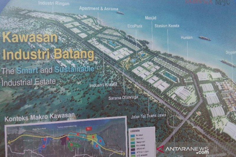 Akses masuk KIT Batang dibangun Agustus 2020