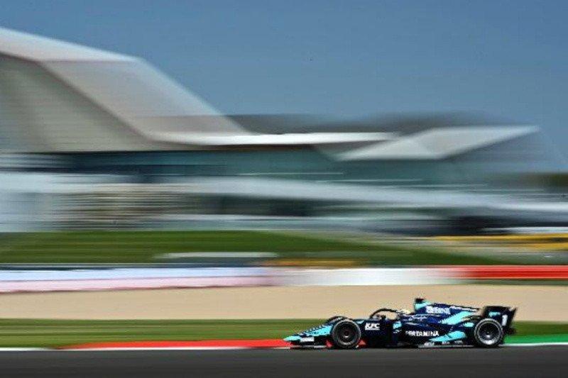 Sean Gelael awali balapan F2 Silverstone dari posisi 16