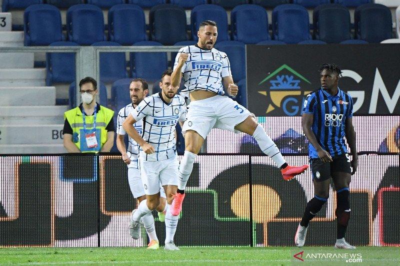 Inter amankan peringkat kedua usai hempaskan  Atalanta 2-0