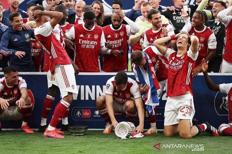 Daftar juara Piala FA: Arsenal raih terbanyak  trofi