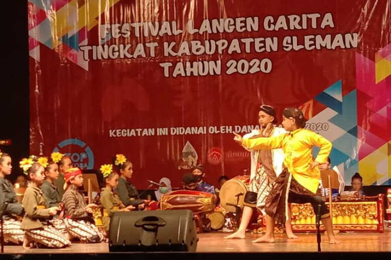 Disbud Sleman menyelenggarakan Festival Langen Carita 2020