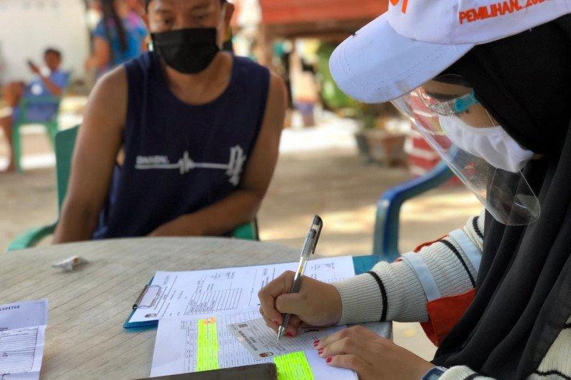 KPU Makassar sudah coklit 736.030 pemilih