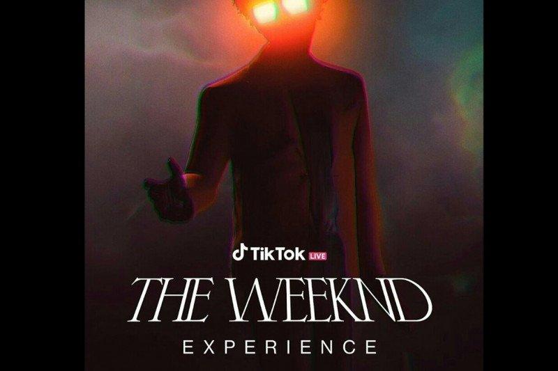 The Weeknd akan konser lewat TikTok