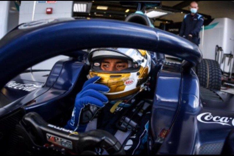 Gagal di race pertama, pebalap Indonesia Sean coba peruntungan di race kedua Silverstone