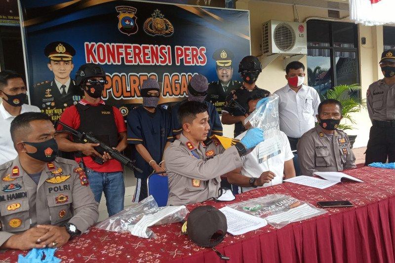 Setelah enam kali beraksi, dua pelaku begal yang resahkan warga ditangkap polisi