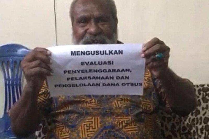John Gluba Gebze: Otsus Papua dievaluasi, bukan ditolak