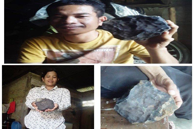 Viral! Batu jatuh dari langit ke rumah warga ditawar Rp200 juta, Pemilik: tak akan saya jual