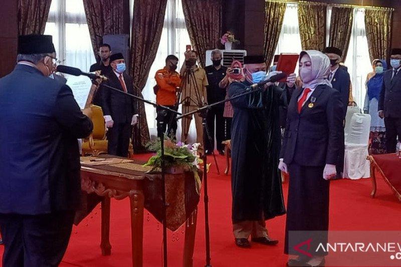 Nur Endang Abbas jabat Sekda Provinsi Sulawesi Tenggara