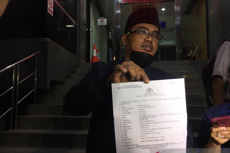 Anji dilaporkan ke Polda Metro Jaya karena dugaan hoaks obat COVID-19