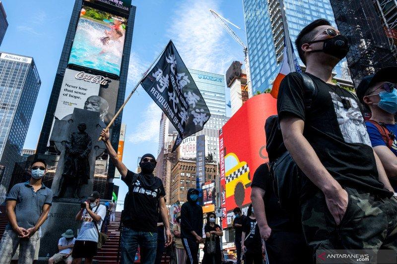 Pemerintah AS jatuhkan sanksi kepada Carrie Lam dan pejabat Hong Kong lainnya
