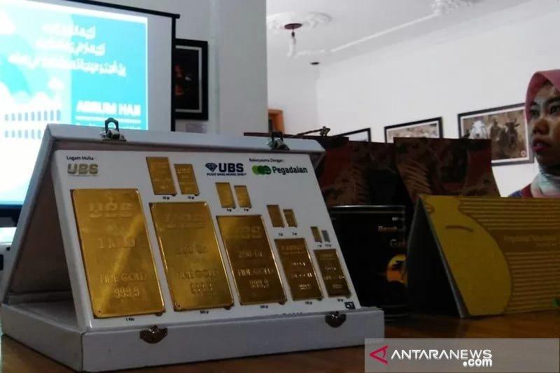 Investasi emas makin diminati masyarakat