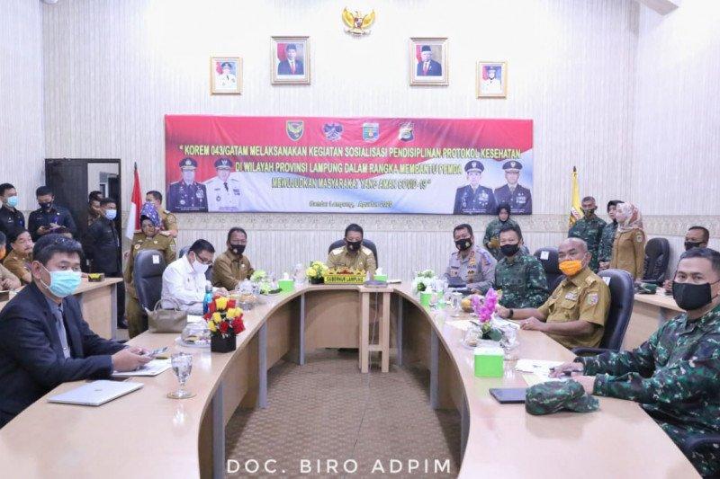 Gubernur Lampung minta masyarakat disiplin patuhi protokol kesehatan