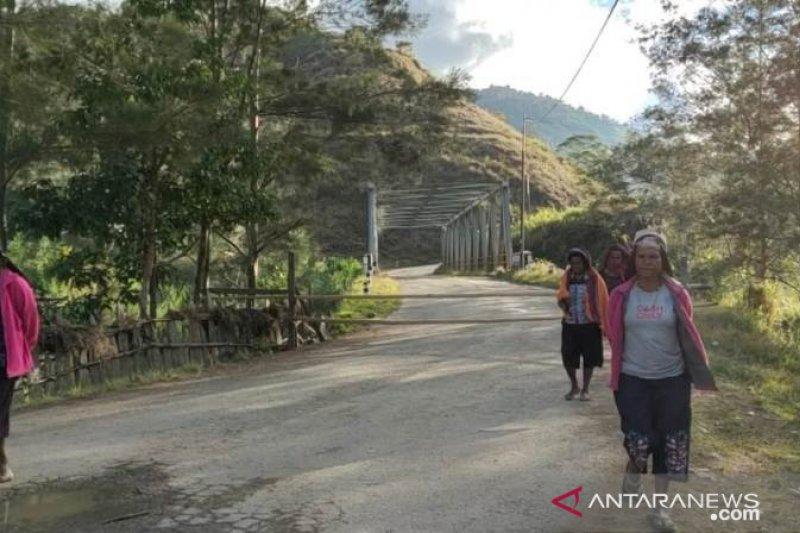 Kapolres Tolikara: Tak ada pemalangan jalan Trans Papua