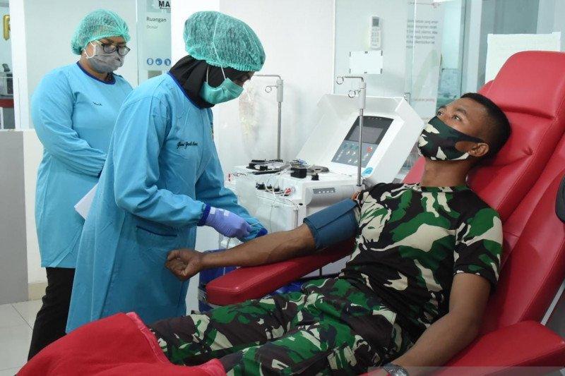 92,9 persen pasien Secapa TNI AD sembuh dari Covid-19