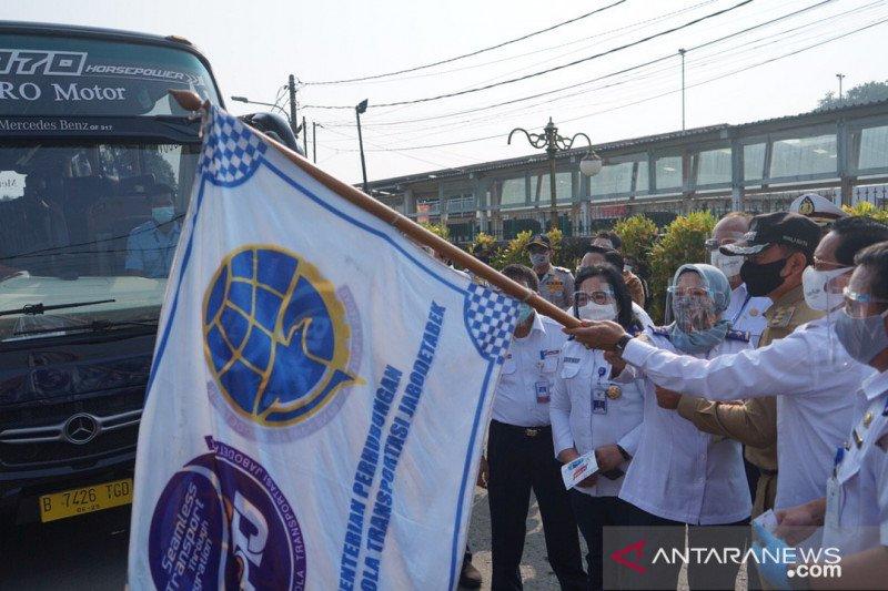 PPD uji coba tiga trayek baru atasi lonjakan penumpang KRL di Bogor