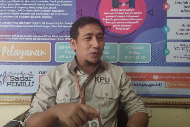 KPU Bandarlampung : Pasangangan Ike-Zam lanjut ke tahap verifikasi faktual