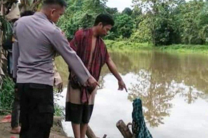 Buaya terkam warga di sungai Barakkang Mamuju Tengah