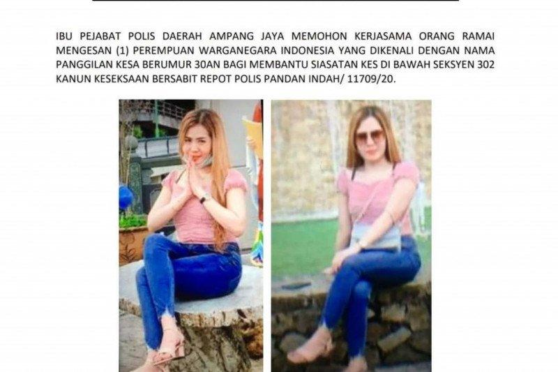 Polisi Malaysia buru wanita WNI terkait kasus pembunuhan