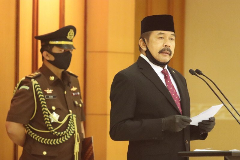 Jaksa Agung ST Burhanuddin melantik Sekretaris Jampidum dan sejumlah eselon II