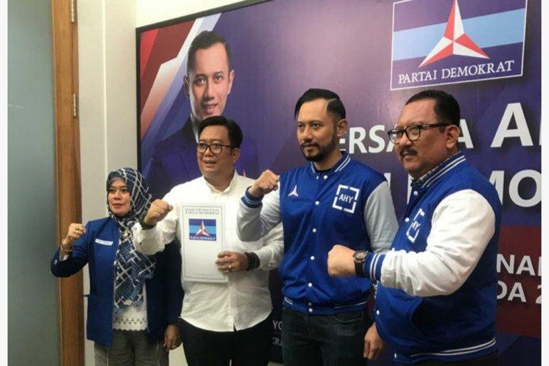 Ketua Umum Demokrat serahkan tujuh rekomendasi Pilkada serentak di Sulsel