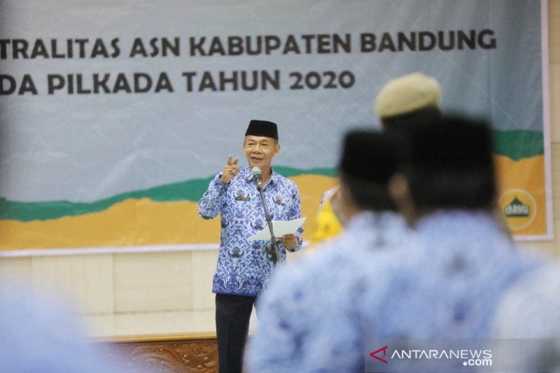Sekda Kabupaten Bandung Teddy Kusdiana berpulang