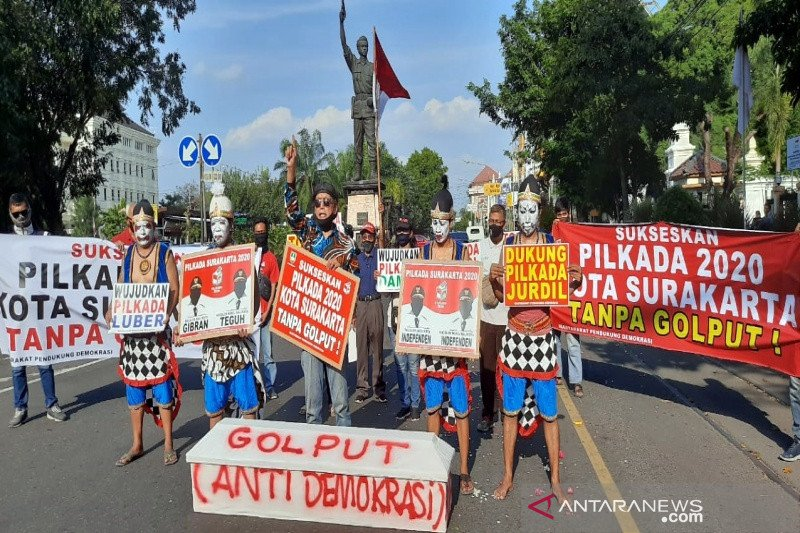 Masyarakat Solo ajak warga tidak golput pada Pilkada 2020